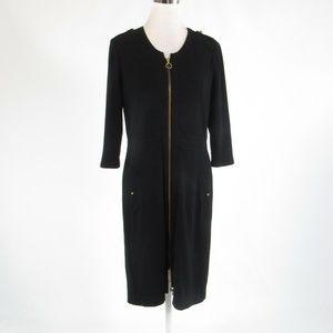 Black GERARD DAREL sheath dress GR40 12